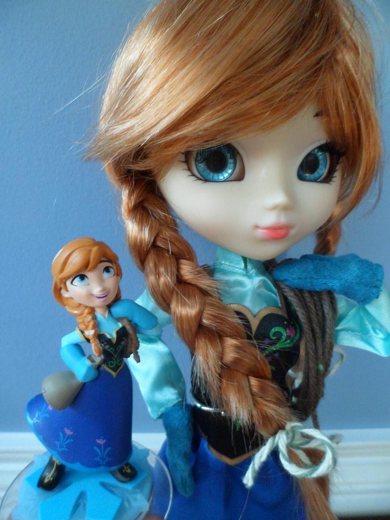 Anna Pullip And Disney Infinity Figurine Anna Got Her