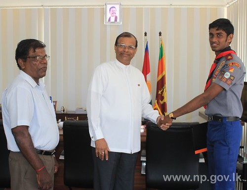 President's Award to Jaffna St. John's College Scout – 29 July 2014