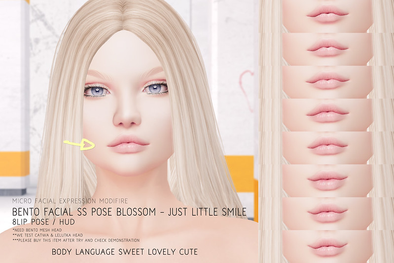 Facial SS POSE Blossom - Just Little Smile @ Kustom9