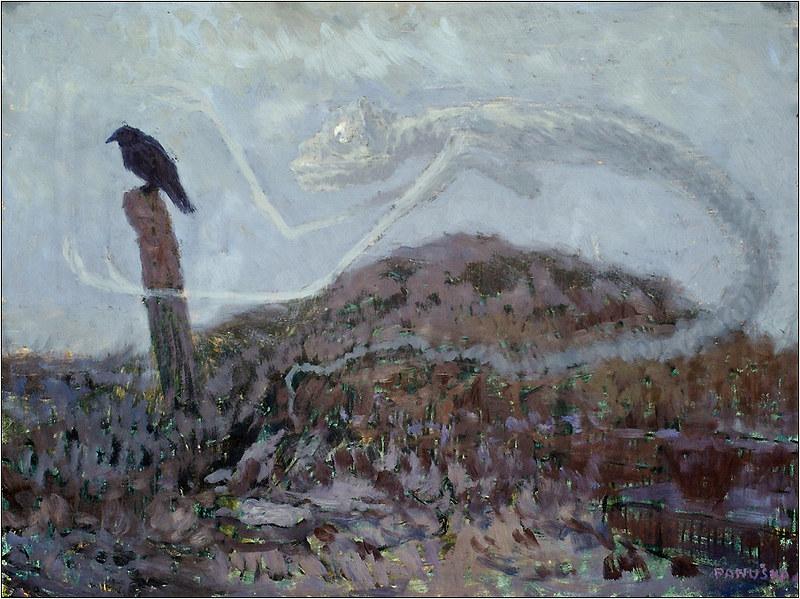 Jaroslav Panuska - Lipnitskaya Jackdaw And A Vampire, 1910-1911