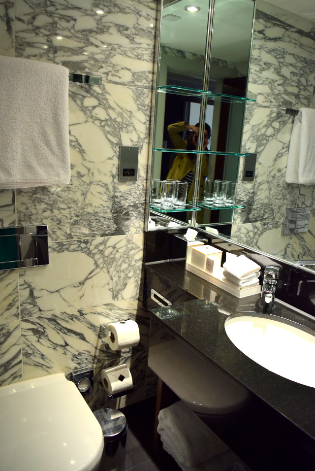 Superior Room Bathroom at The Marylebone Hotel | www.rachelphipps.com @rachelphipps
