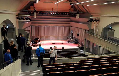 Hörsalen – vy mot scenen