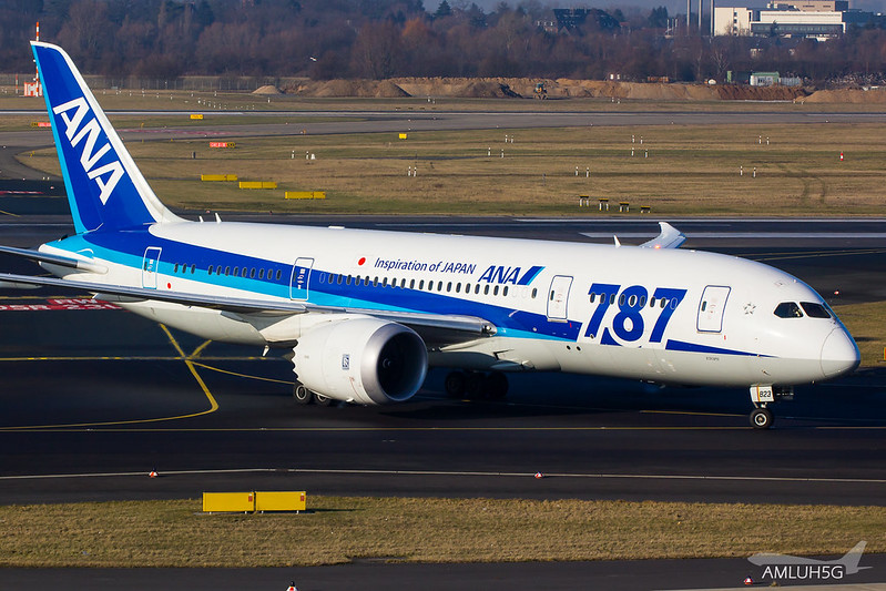 All Nippon Airways - B788 - JA823A (2)