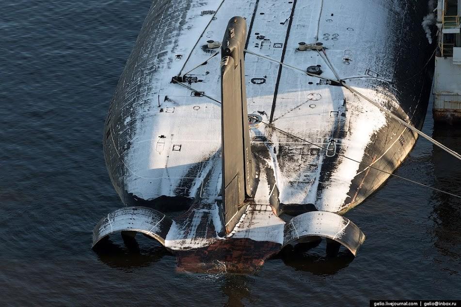 Тайфун: Самая большая в мире атомная подводная лодка