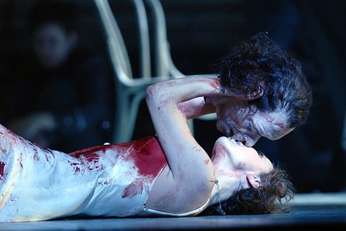 Nadja Michael as Salome Royal Opera House, London, 2008 ROH © Robbie Jack - Corbis. Corbis Entertainmen. Getty Images