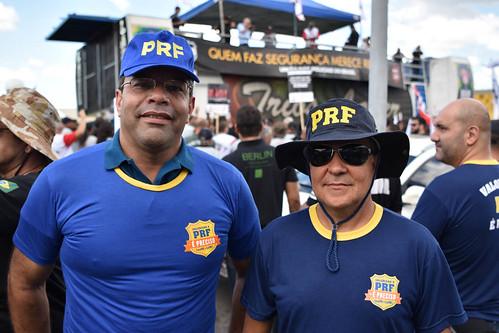 18.04.2017 - Manifestação UPB contra o fim da Aposentadoria Policial