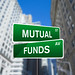 Mutual Funds Wall Street Sign