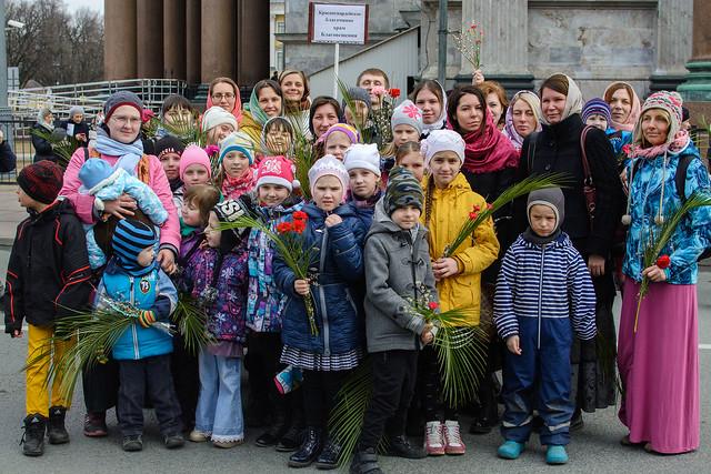 Детский крестный ход 2017. Исаакиевский собор