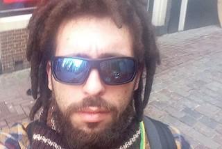 Noicattaro. Vito Guarnieri ad Amsterdam front