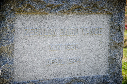 Zebulon Vance Grave-001