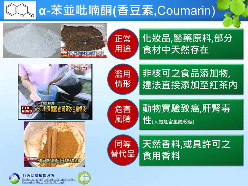 13 α-苯並吡喃酮(香豆素,Coumarin)