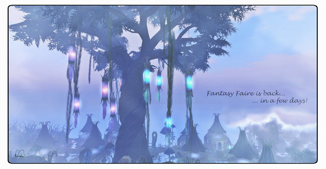 Fantasy Faire Is Back...