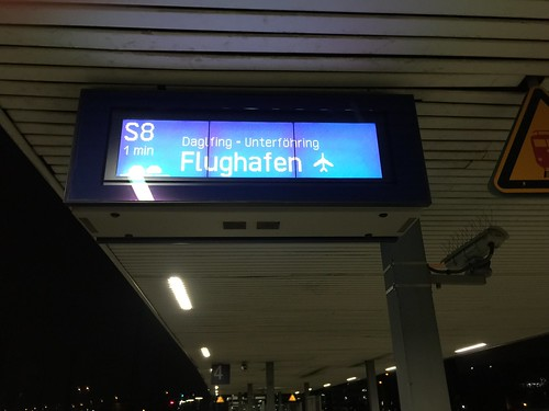 S8 Richtung Flughafen - München