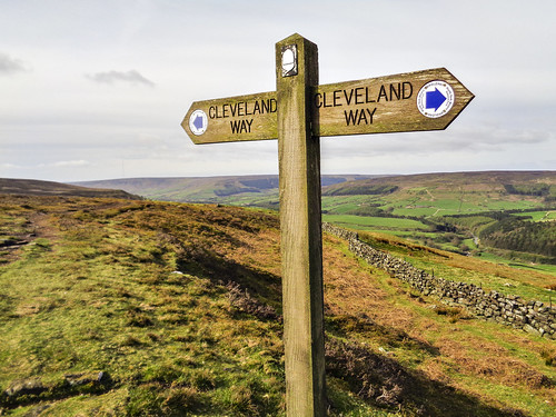 On the Cleveland Way