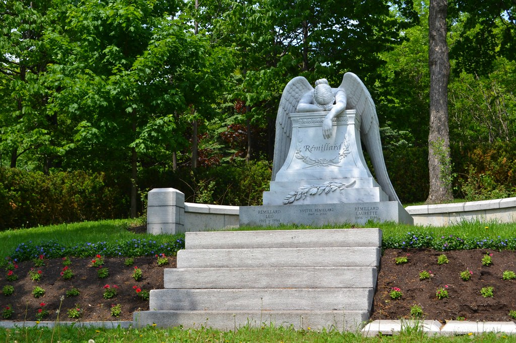 ... Angel Of Grief #3 (front View) | By Cleofysh