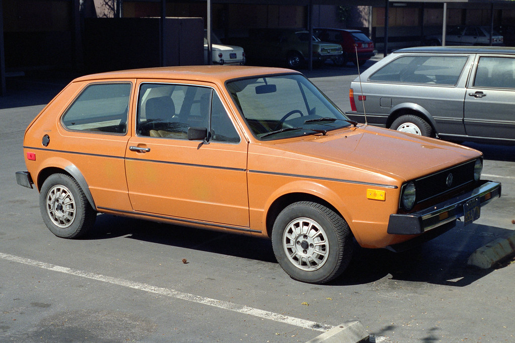 1978 Vw Rabbit 1988 The Second 1978 Volkswagen Rabbit G Flickr