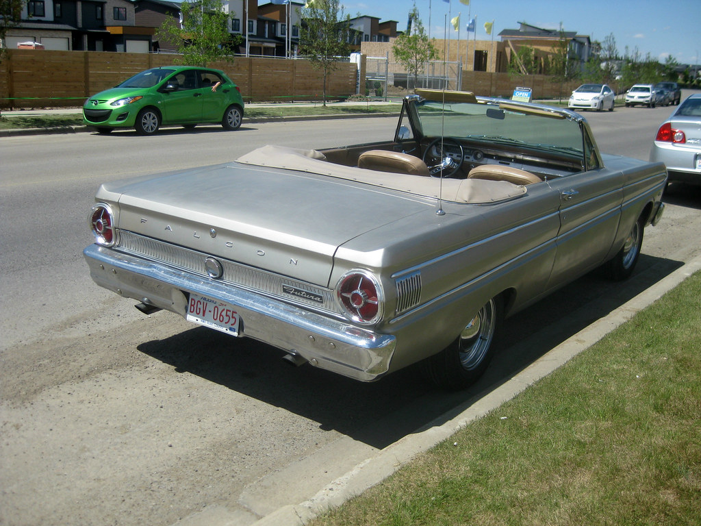 1964 Ford Falcon Futura Convertible Rear Dave 7 Flickr By