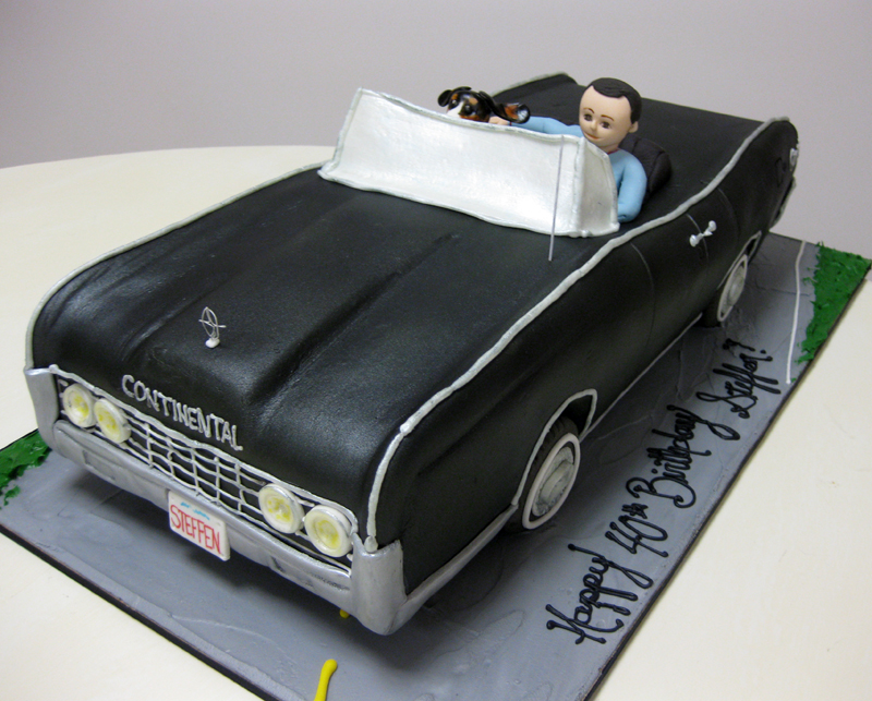 Lincoln Continental Car Cake Amazing Sculpted Car Dog F Flickr