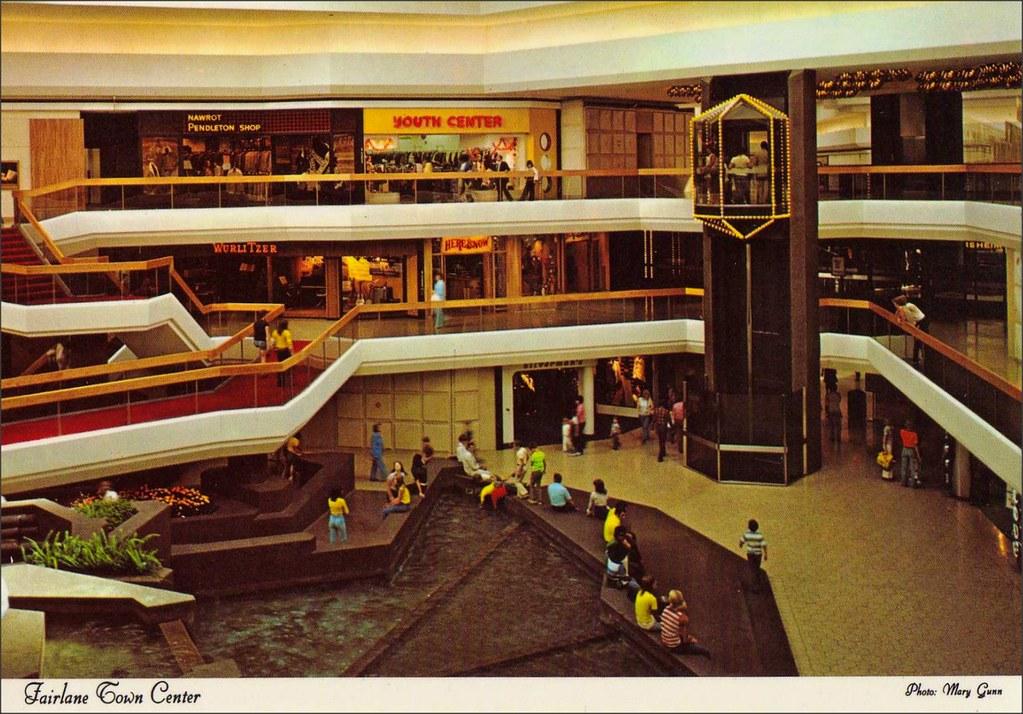 Fairlane Town Center Shopping Mall Dearborn Michigan 1970s Flickr