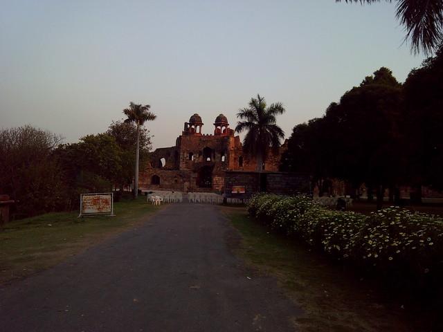 Humayun Darwaza at Purana Qila