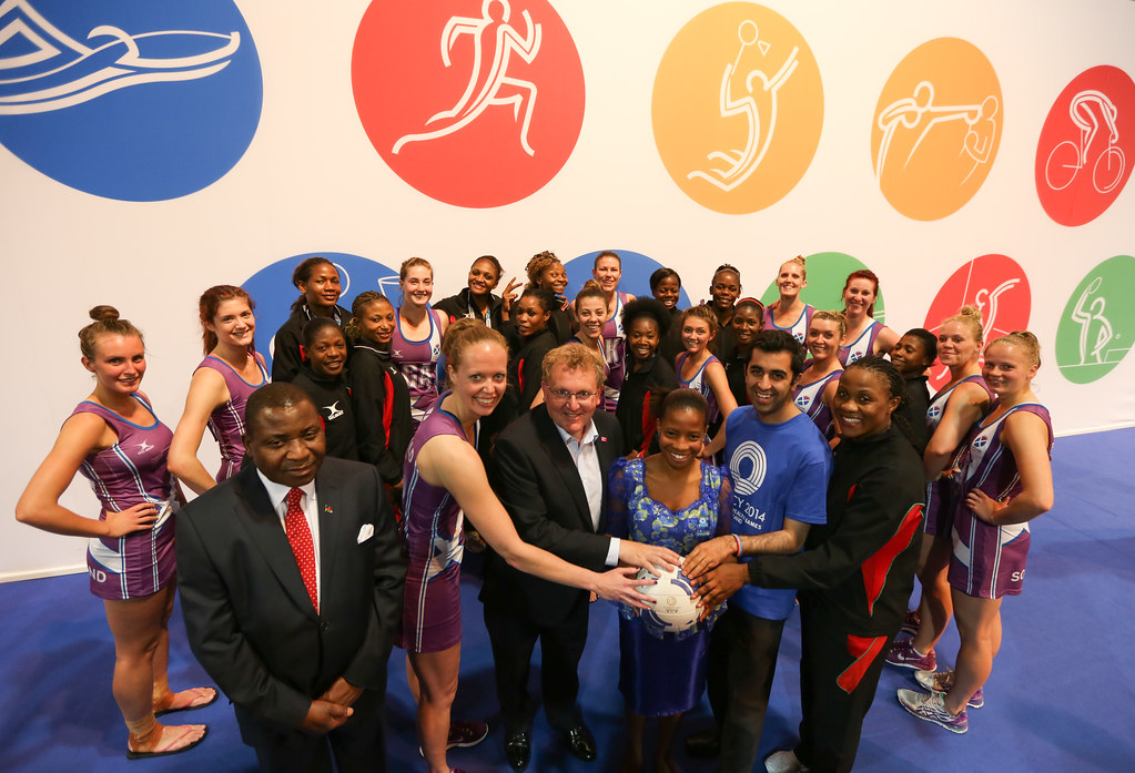 Scotland and Malawi netball teams | Scotland and Malawi ...