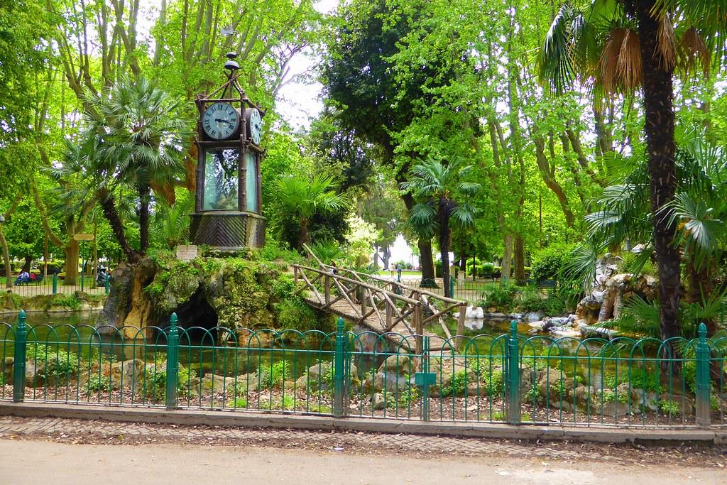 Hff water clock orologio ad acqua villa borghese romeu flickr