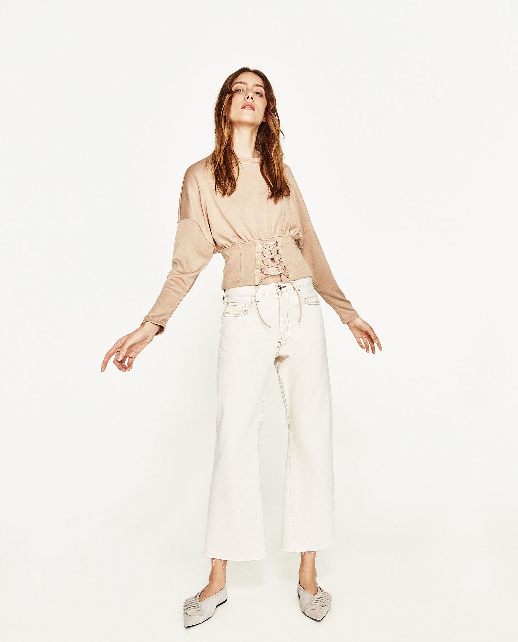 jersey corsé Zara