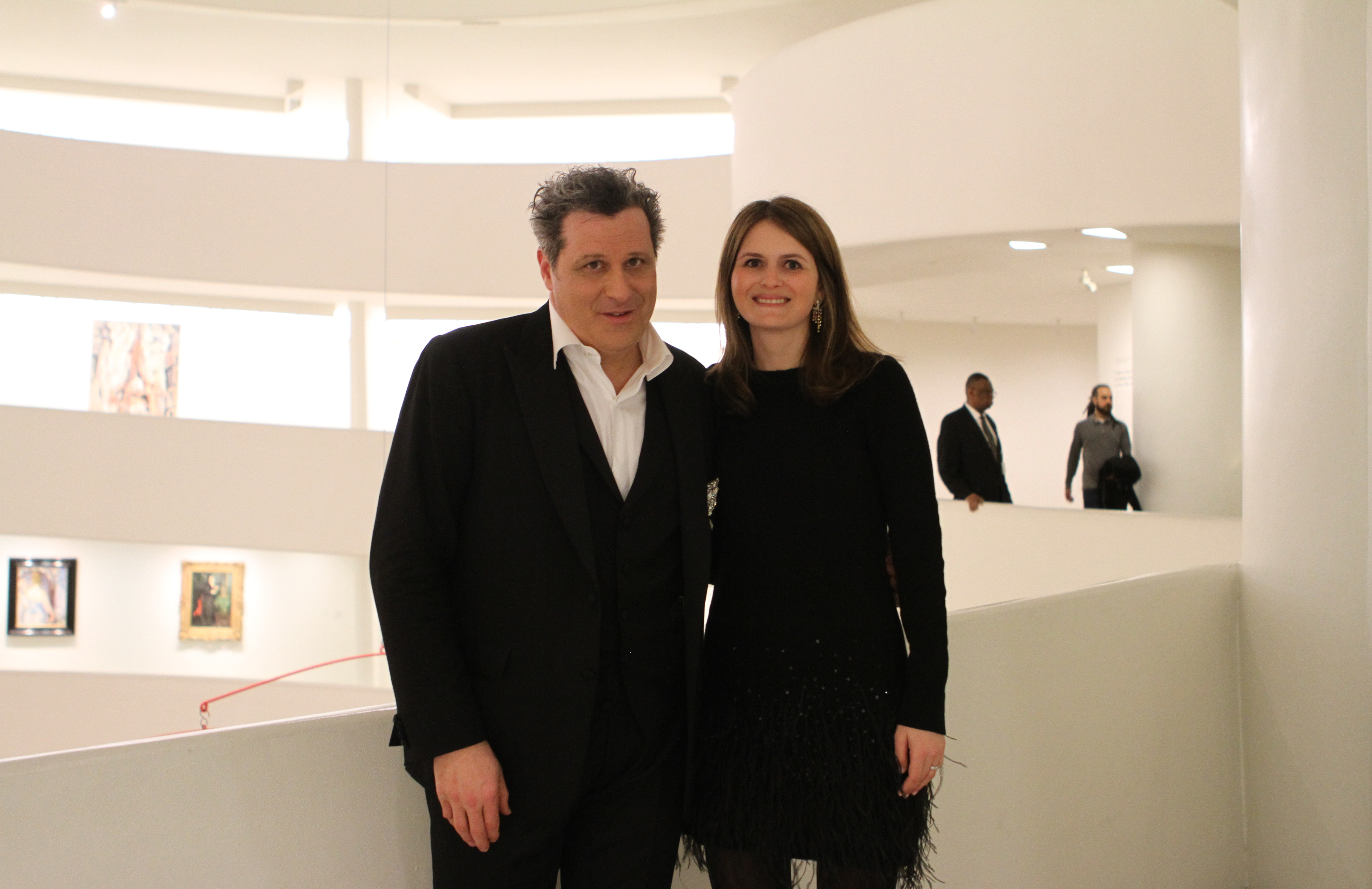 Works and Process at the Guggenheim Presents Isaac Mizrahi and the Ben Waltzer Quartet (8)