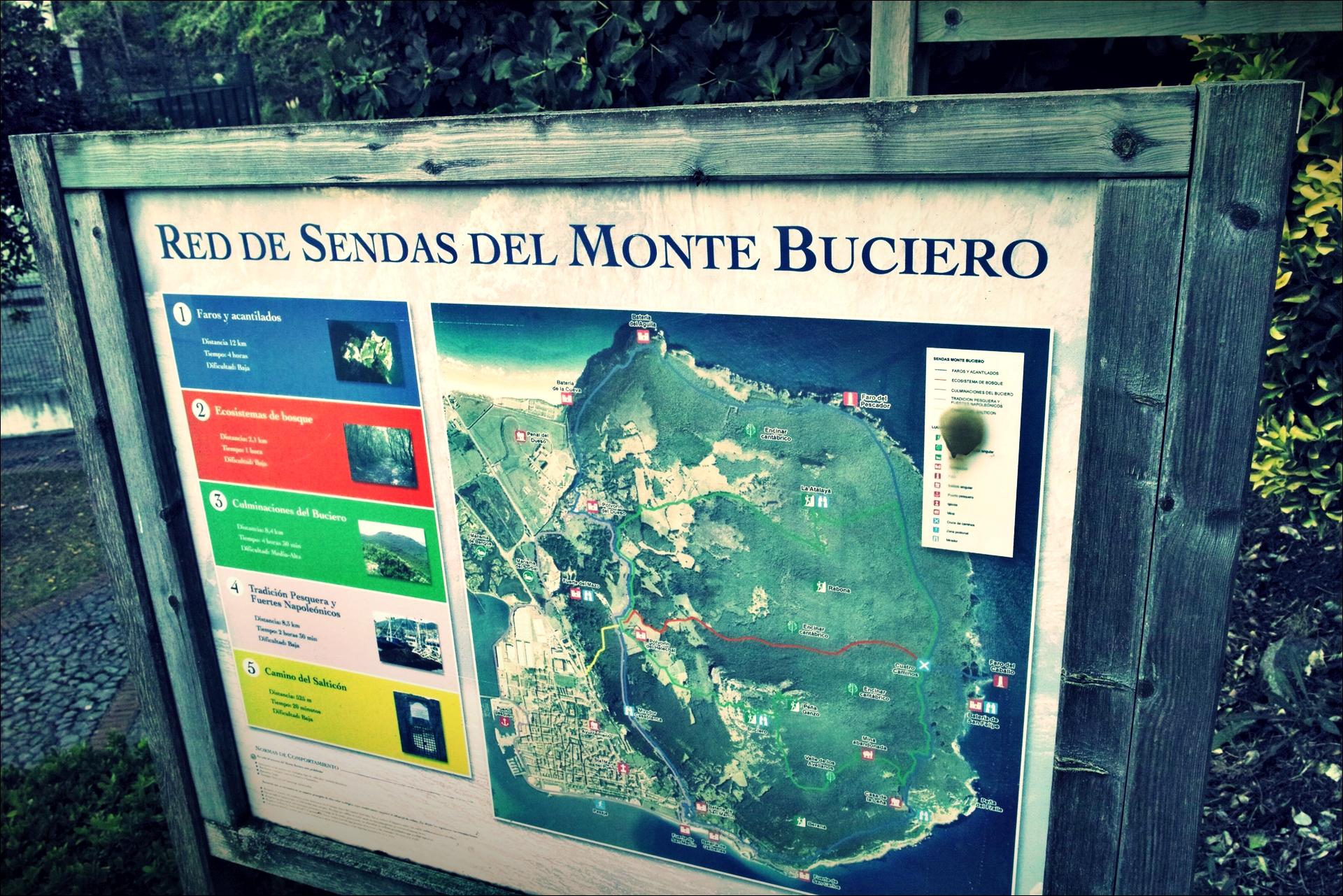 부씨에로 산 안내-'카미노 데 산티아고 북쪽길. 산토냐에서 노하. (Camino del Norte - Santoña to Noja)'