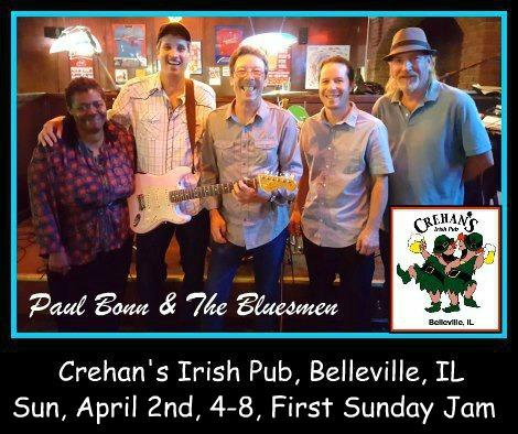 Paul Bonn & The Bluesmen 4-2-17