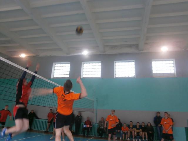 Спартакіада району - 2017. Волейбол. Юнаки