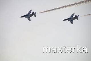 ブルーインパルス2機