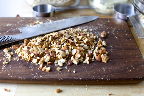 roughly chopped almonds | by smitten kitchen
