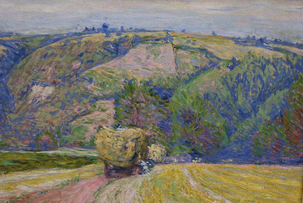 """Pankiewicz """"Woz z sianem"""" (1890) au musée d'art du 19e à Cracovie en Pologne."""