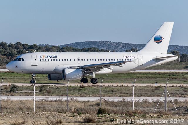 LGAV I 23.02.2017 I Airbus A319-112 I SX-BHN