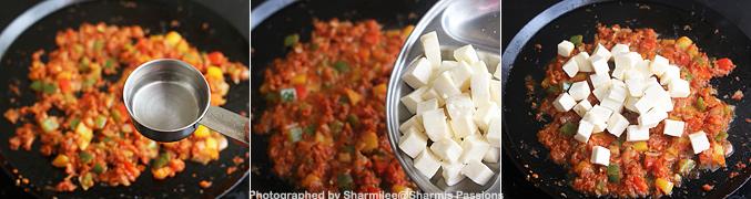 How to make Tawa paneer masala recipe - Step6