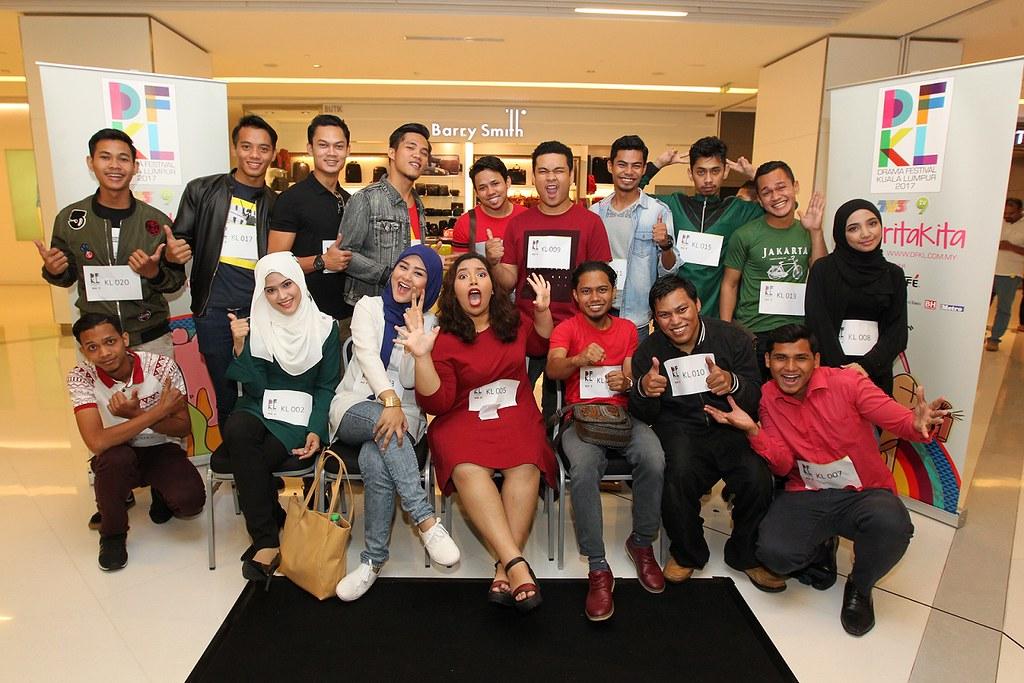 Para peserta Pencarian Bakat Baharu DFKL 2017 KL