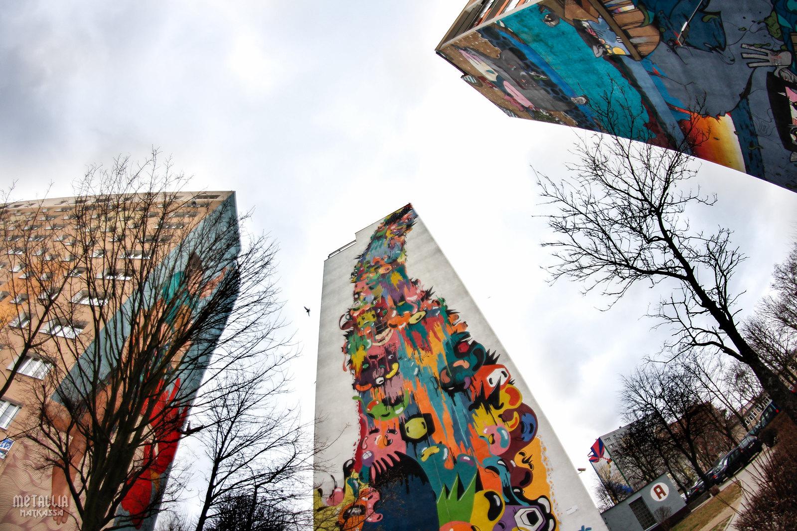 gdansk, gdansk zaspa, zaspa, gdansk districts, visit gdansk, streetart, murals