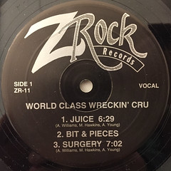 WORLD CLASS WRECKIN' CRU:JUICE(LABEL SIDE-A)