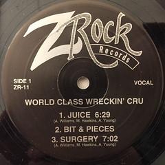WORLD CLASS WRECKIN' CRU:JUICE(LABEL SIDE-A)