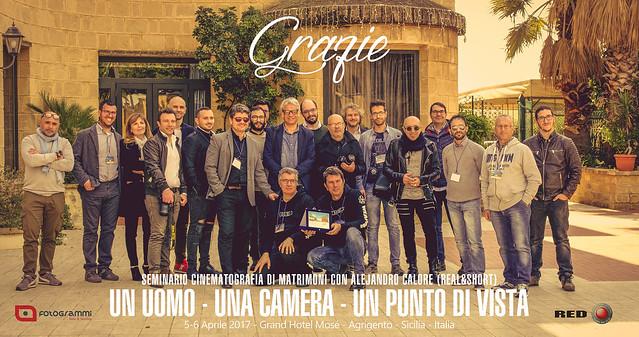 REAL&SHORT Agrigento Seminar, Sicily (IT)