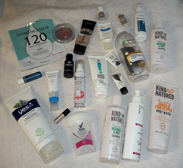 March Beauty Empties 1