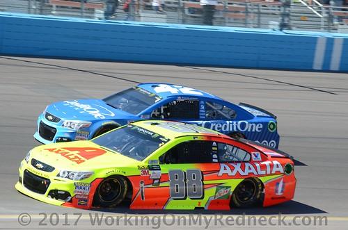 Dale Earnhardt, Jr & Kyle Larson