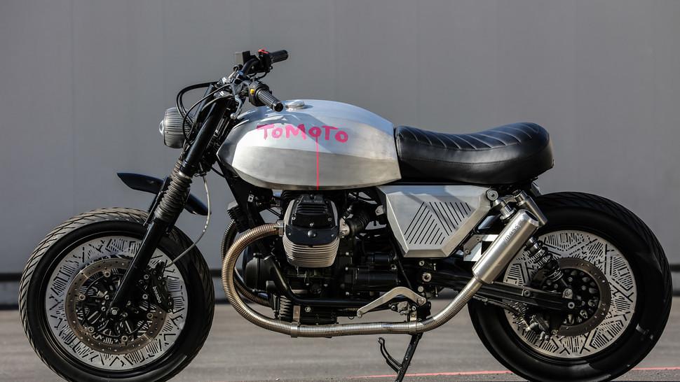 Ukdesignertomdixondesignsacustomizedmotoguzzimotorcycle Euro