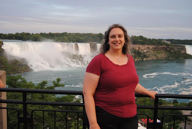 Katherine Rowland in Niagara Falls, Ontario