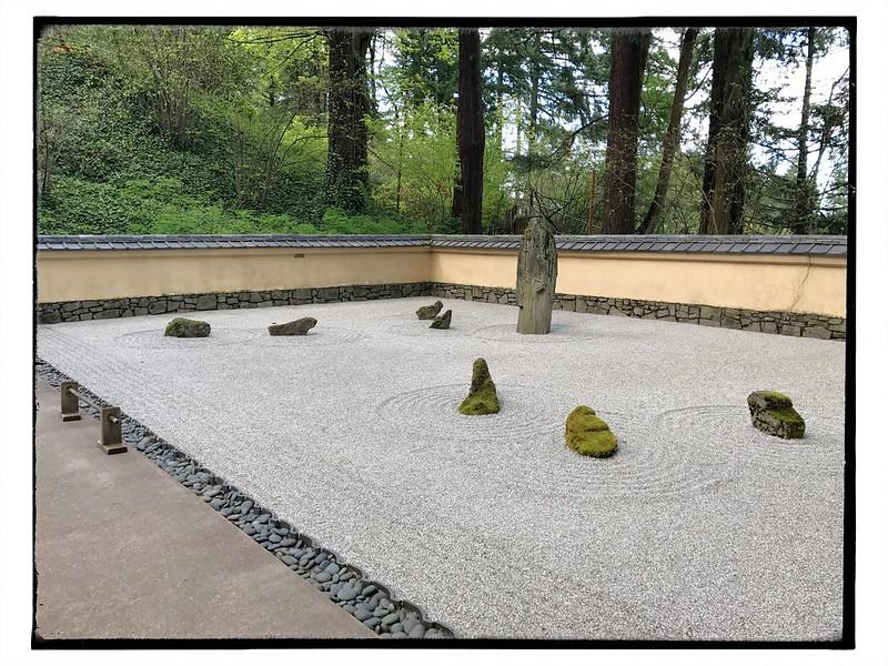 Contemplative garden.
