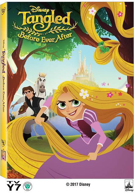 Disney Tangled Before Ever After Cover Art