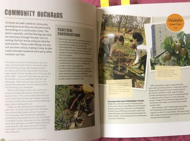 The Community Gardening Handbook: Community Orchards