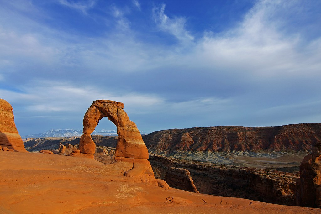Arches National Park -Utah. Delicate Arch