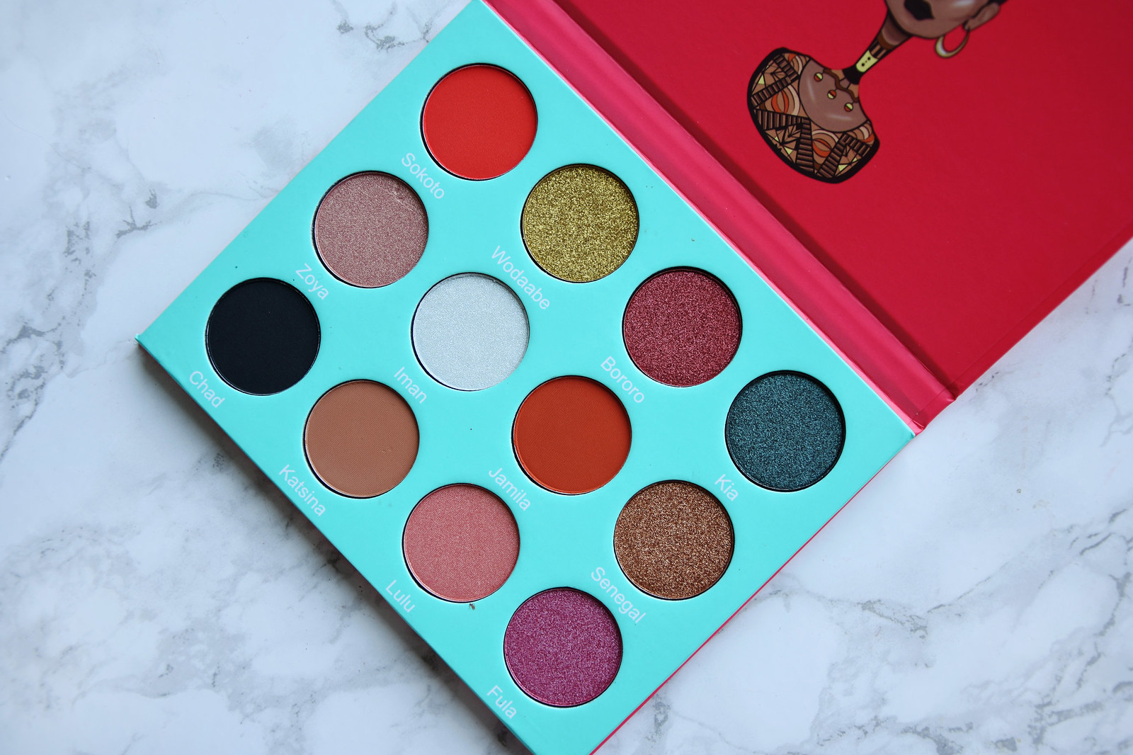 Juvias Place Saharan palette review